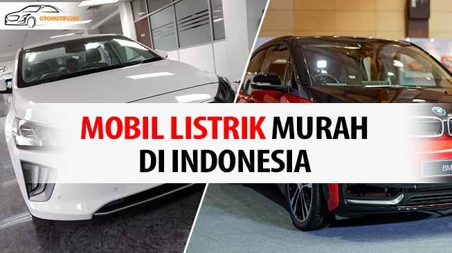 5 Mobil Listrik Terbaik Di Indonesia 2020 Otomotifcom