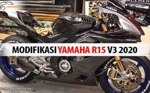 Modifikasi Yamaha R15 V3