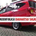 Tips Panduan Modifikasi Daihatsu Sigra: Murah, Mudah, dan Berkualitas