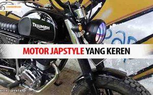 Rekomendasi Motor Terbaik Untuk Di Modifikasi Ala Japstyle