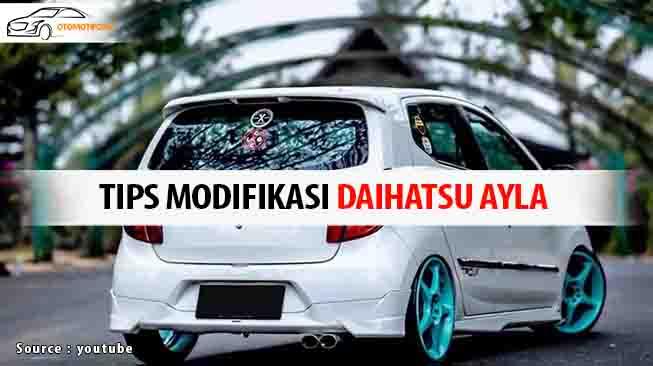 Modifikasi Daihatsu Ayla