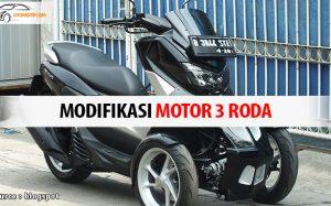 modifikasi motor roda tiga