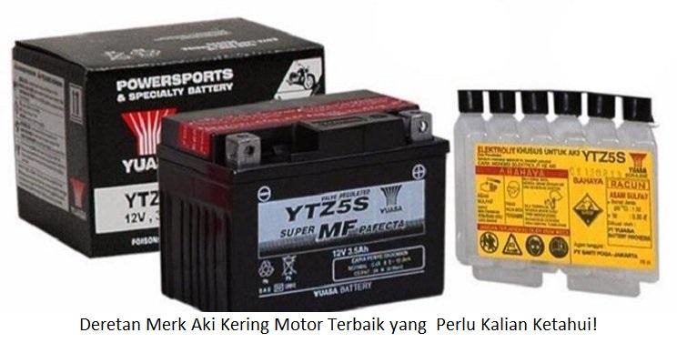 Aki Kering Motor