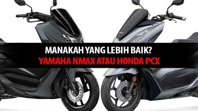 Yamaha Nmax x Honda PCX