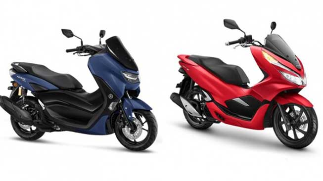 Spesifikasi Yamaha Nmax x Honda PCX
