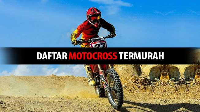 Daftar Motocross Termurah