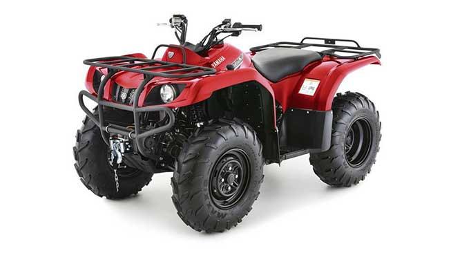 Motor ATV Yamaha Grizzly 350