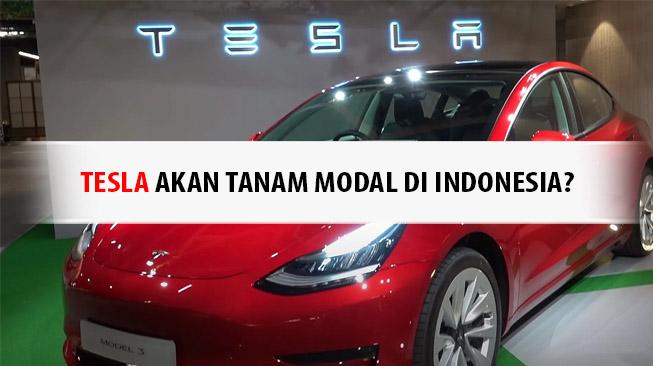 Tesla Tanam Modal Di Indonesia